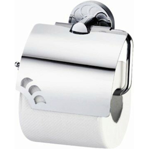 Держатель туалетной бумаги WasserKRAFT Isen K-4025 с крышкой Хром недорого