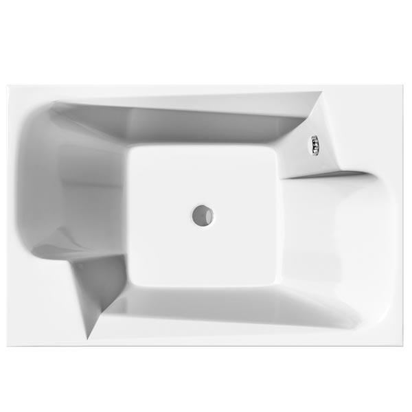 Ontario 190x125 БелаяВанны<br>Акриловая ванна Vayer Ontario 190x125 прямоугольная приставная. Большая ванна. Мини-бассейн в вашем доме. <br>Ванна Ваер Онтарио с четкими прямоугольными формами подойдет для ванной комнаты в современном стиле.<br>Ванна изготовлена из 100% литьевого акрила европейской марки Lucite (Англия) с усиленным армирующим слоем по всей внутренней поверхности. Изначальный неусиленный лист акрила толщиной 5 мм – роскошный нескользящий высококачественный материал, который прекрасно поддается реставрации после многих лет использования.<br>Эргономичная форма позволяет принять удобное положение сразу двум персонам. Широкие выступы на бортах могут служить прекрасными полками для каскадных смесителей.<br>В комплекте поставки: акриловая ванна.<br>