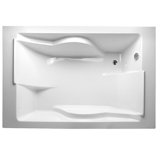 Coral 180x120 БелаяВанны<br>Акриловая ванна Vayer Coral 180x120 прямоугольная приставная.<br>Ванна Ваер Корал с четкими прямоугольными формами подойдет для ванной комнаты в современном стиле.<br>Ванна изготовлена из 100% литьевого акрила европейской марки Lucite (Англия) с усиленным армирующим слоем по всей внутренней поверхности. Изначальный неусиленный лист акрила толщиной 5 мм – роскошный нескользящий высококачественный материал, который прекрасно поддается реставрации после многих лет использования.<br>Большая вместительная ванна представляет собой скорее мини-бассейн, нежели ванну. Эргономичная форма позволяет принять удобное положение сразу двум персонам.<br>В комплекте поставки: акриловая ванна.<br>