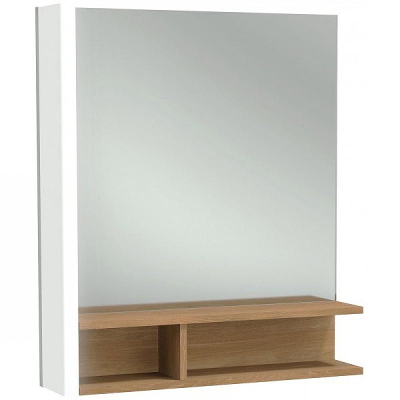 Фото - Зеркало Jacob Delafon Terrace 60 L EB1180G-NF с подсветкой с полкой зеркало jacob delafon terrace eb1182 nf