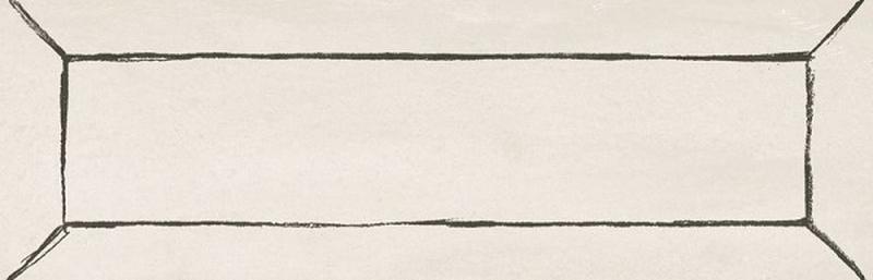 Керамическая плитка WOW FreehandCottonSmokeBevel настенная 5,2х16 см