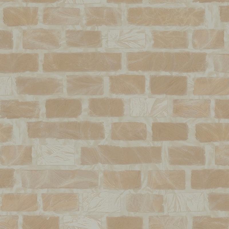 Обои Fipar Romana R 22529 Винил на флизелине (1,06*10,05) Коричневый, Кирпич