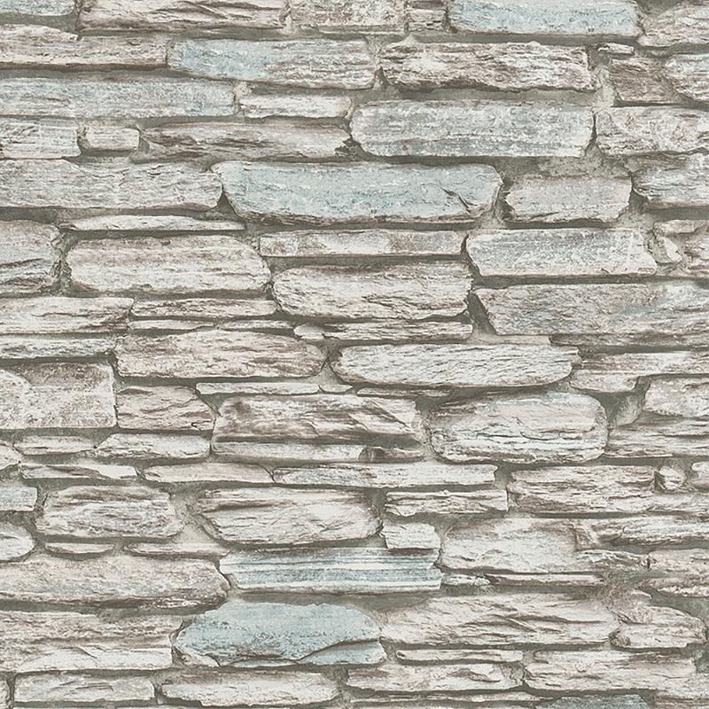 Обои Marburg Brique 97989 Флизелин (1,06*10,05) Серый/Коричневый, Кирпич