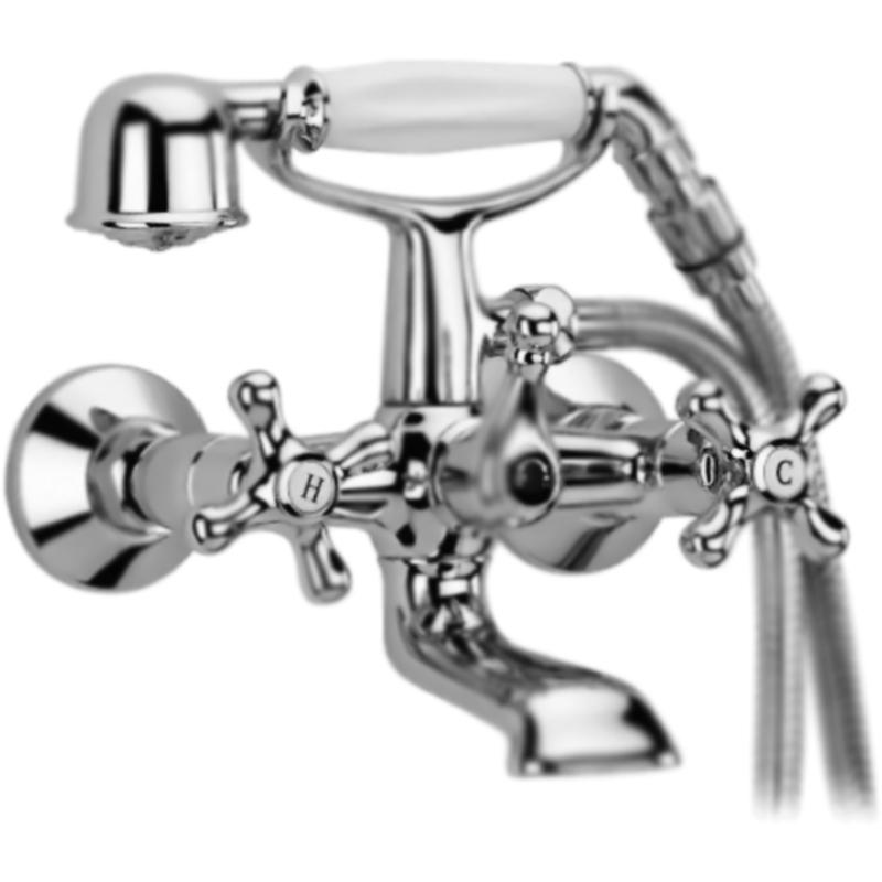 Купить Смеситель для ванны, Retro RETRO-VD2-01 Хром, Cezares, Италия