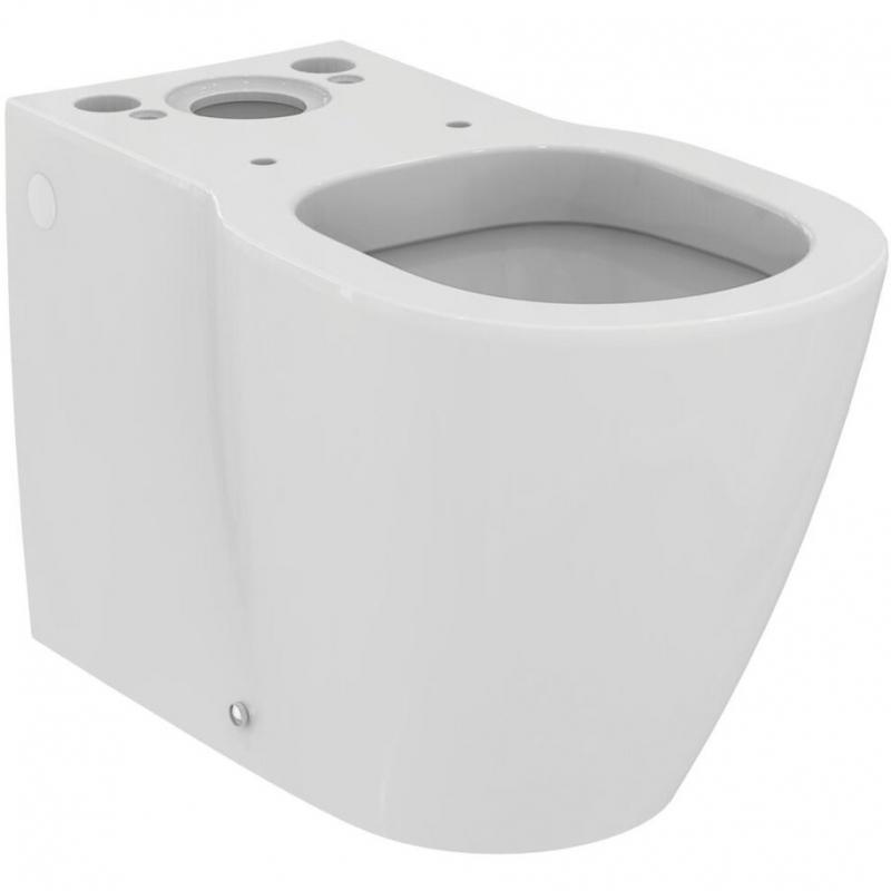 Унитаз компакт Ideal Standard Connect E803701 без бачка и сиденья