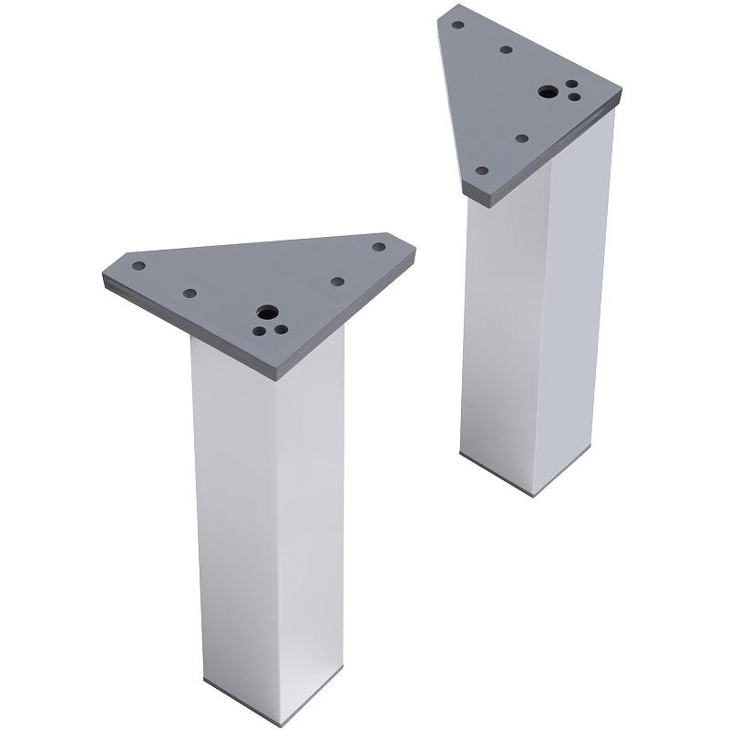 Ножки для тумбы Акватон 1A222703SI000 Серебристый тумбы для прихожей
