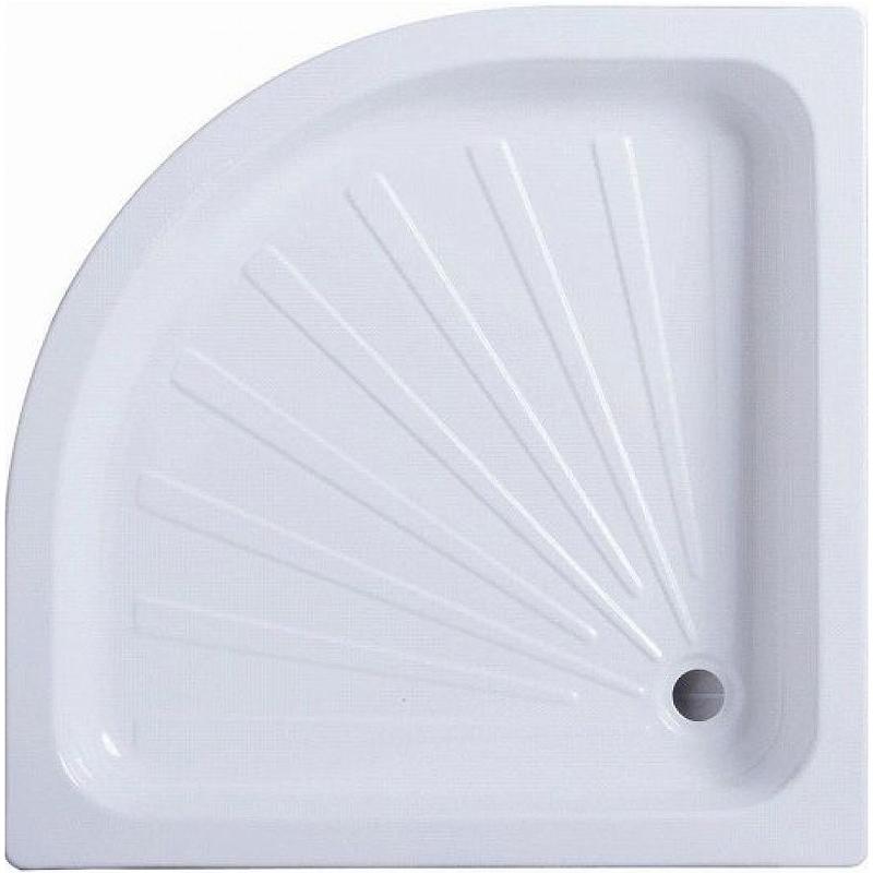 Душевой поддон из АБС-пластика Cerutti SPA R90 90х90 7708 Белый