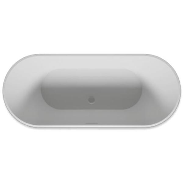 Ванна из искусственного камня Riho Barcelona 170x70 без гидромассажа ванна из искусственного камня jacob delafon elite 170x75 с щелевидным переливом e6d031 00 без гидромассажа