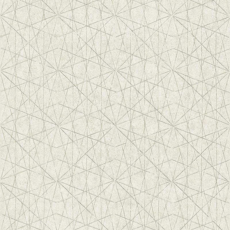 Обои Grandeco Nuances NU 3304 Винил на флизелине (0,53*10,05) Серый, Геометрия