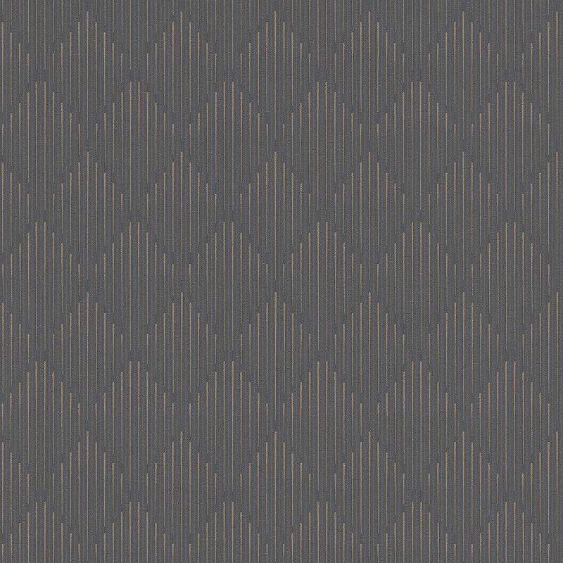 Обои Grandeco Nuances NU 3008 Винил на флизелине (0,53*10,05) Серый, Геометрия/Ромб