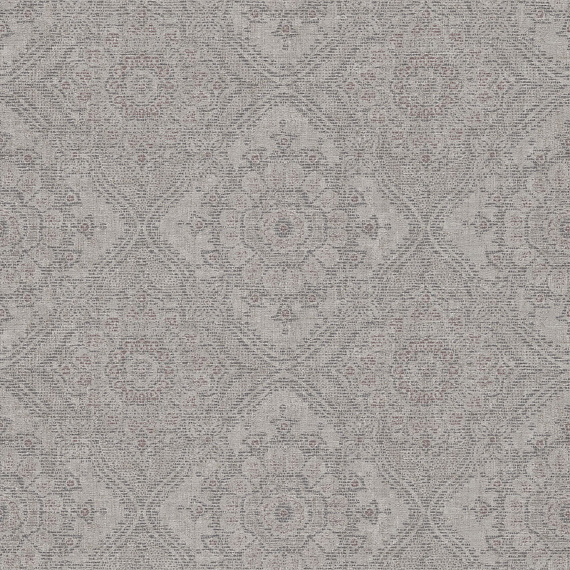 Обои Grandeco Clarence CR 3102 Винил на флизелине (0,53*10,05) Серый, Орнамент