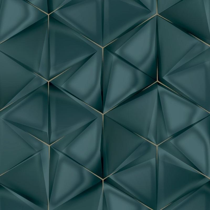 Фото - Обои Ugepa Onyx M34901 Винил на флизелине (0,53*10,05) Серый/Зеленый/Синий, Геометрия полуботинки рабочие замшевые размер 41 серый синий зеленый
