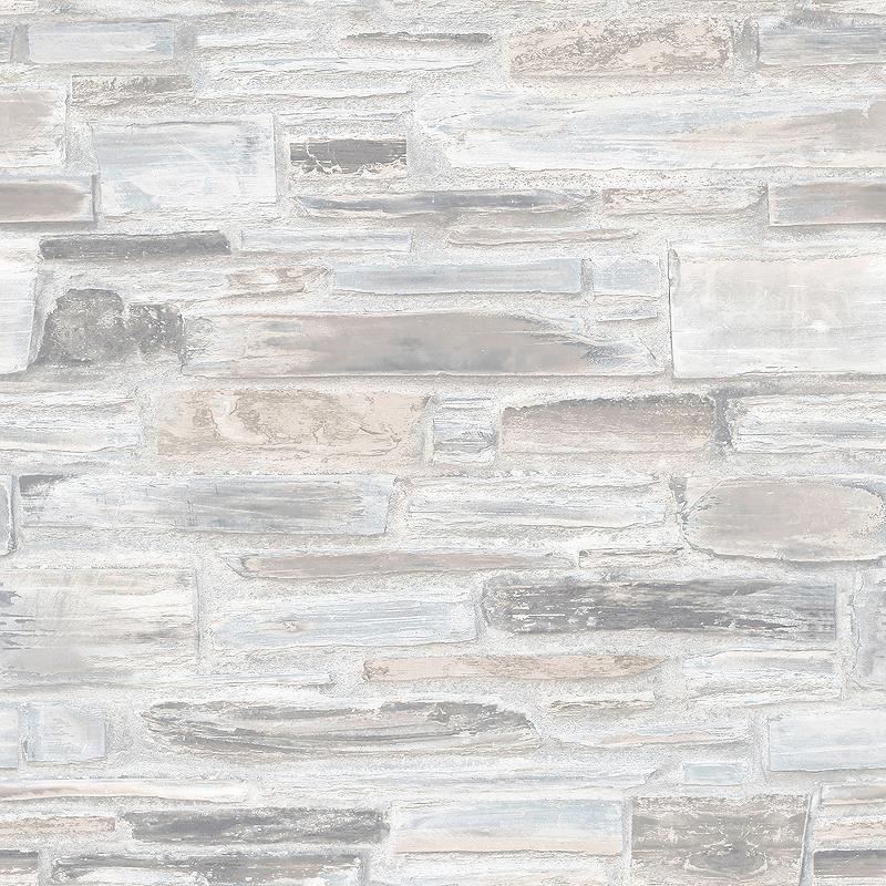 Обои Grandeco Exposure EP 3201 Винил на флизелине (0,53*10,05) Серый/Коричневый, Кирпич