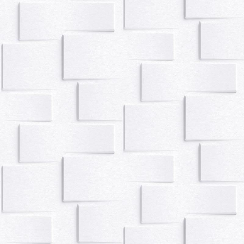 Обои Grandeco Exposure EP 3301 Винил на флизелине (0,53*10,05) Серый/Белый, Кирпич