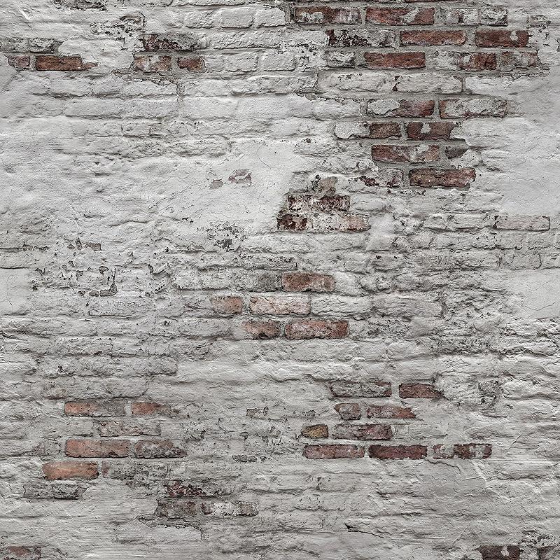 Обои Grandeco Exposure EP 6102 Винил на флизелине (1,59*2,8) Серый/Белый/Коричневый, Кирпич