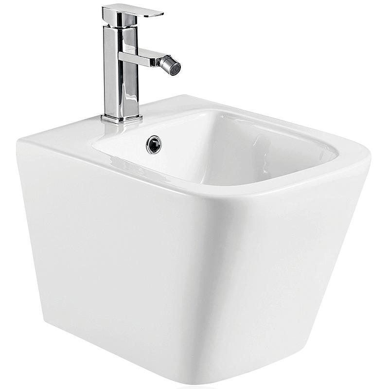 Биде Koller Pool Kvadro KR-0485-B подвесное Белое