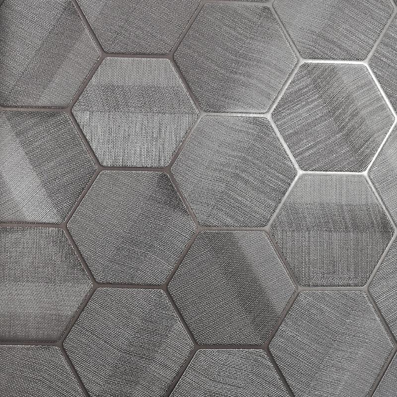 Обои ZAMBAITI PARATI Lamborghini 44804 Винил на флизелине (0,7*10,05) Серый, Геометрия