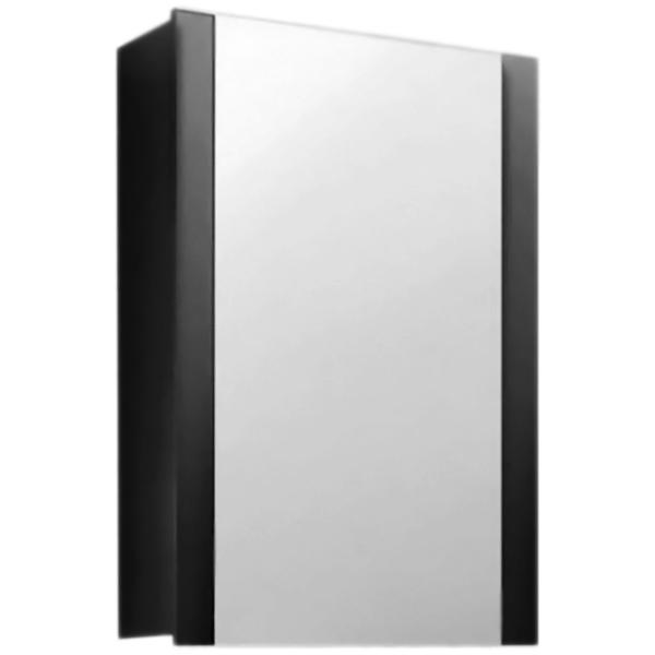 Fresh 60 с подсветкой АнтрацитМебель для ванной<br><br>Подвесной зеркальный шкаф Edelform Fresh 60 2-614-04-S цвета антрацит, с одной распашной дверцей, с подсветкой. Предназначен для использования в ванных комнатах с повышенной влажностью.<br><br><br>Простые четкие линии без лишних деталей.<br>Сочетание комфорта и функциональности.<br>Безопасность: экологически чистые составляющие.<br>Материал: МДФ повышенной плотности.<br>Многослойное покрытие Edelform Crystal: итальянская эмаль Milesi.<br>Метод запекания кромки Waterproof: влагостойкость и долговечность.<br>Подсветка: встроенная, люминесцентная.<br>Монтаж: подвесной, крепление к стене.<br><br><br>Отделение:<br>одна распашная дверца, одна вкладная полка.<br>Петли Edelform: доводчики для плавного движения.<br><br><br>В комплекте поставки:<br>зеркальный шкаф.<br>Поставляется в собранном виде.<br><br>