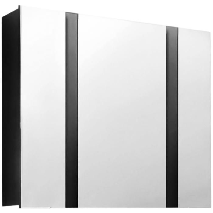 Fresh 80 АнтрацитМебель для ванной<br><br>Подвесной зеркальный шкаф Edelform Fresh 80 2-545-04-O цвета антрацит, с тремя распашными дверцами. Предназначен для использования в ванных комнатах с повышенной влажностью.<br><br><br>Простые четкие линии без лишних деталей.<br>Сочетание комфорта и функциональности.<br>Безопасность: экологически чистые составляющие.<br>Материал: МДФ повышенной плотности.<br>Многослойное покрытие Edelform Crystal: итальянская эмаль Milesi.<br>Метод запекания кромки Waterproof: влагостойкость и долговечность.<br>Монтаж: подвесной, крепление к стене.<br><br><br>Отделения:<br>три распашные дверцы, три вкладные полки.<br>Петли Edelform: доводчики для плавного движения.<br><br><br>В комплекте поставки:<br>зеркальный шкаф.<br>Поставляется в собранном виде.<br><br>