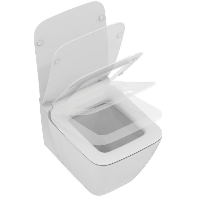 Унитаз Ideal Standard Strada II T359601 подвесной с сиденьем Микролифт унитаз подвесной с сиденьем микролифт ideal standard tonic ii aquablade k316701