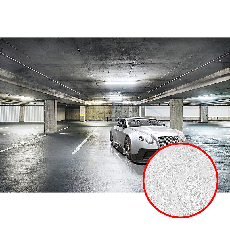 Фотообои Divino P-094 Фактура живопись Винил на флизелине (4*2,7) Серый, Автомобиль