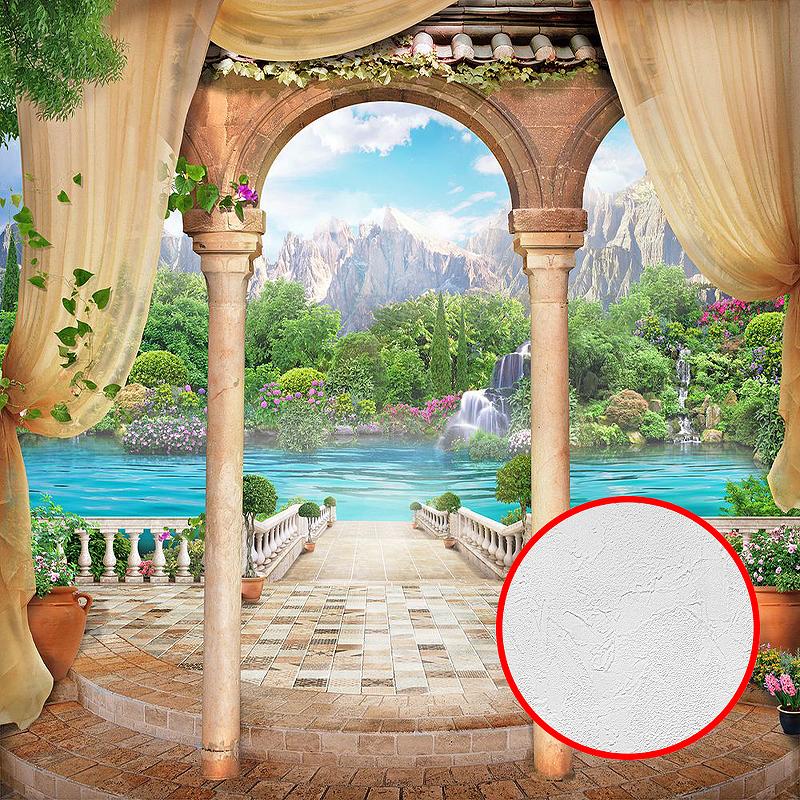 Фотообои Divino P-024 Фактура живопись Винил на флизелине (3*2,7) Разноцветный, Пейзаж