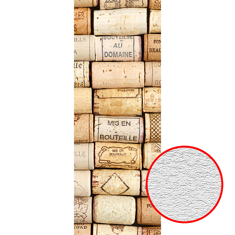 Фотообои Divino A-096 Фактура песок Винил на флизелине (1*2,7) Бежевый, Предметы