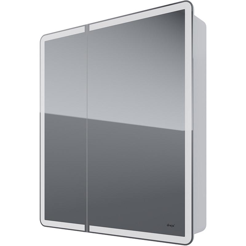 зеркальный шкаф dreja uni 99 9001 Зеркальный шкаф Dreja Point 70 99.9033 с подсветкой Белый с инфракрасным выключателем