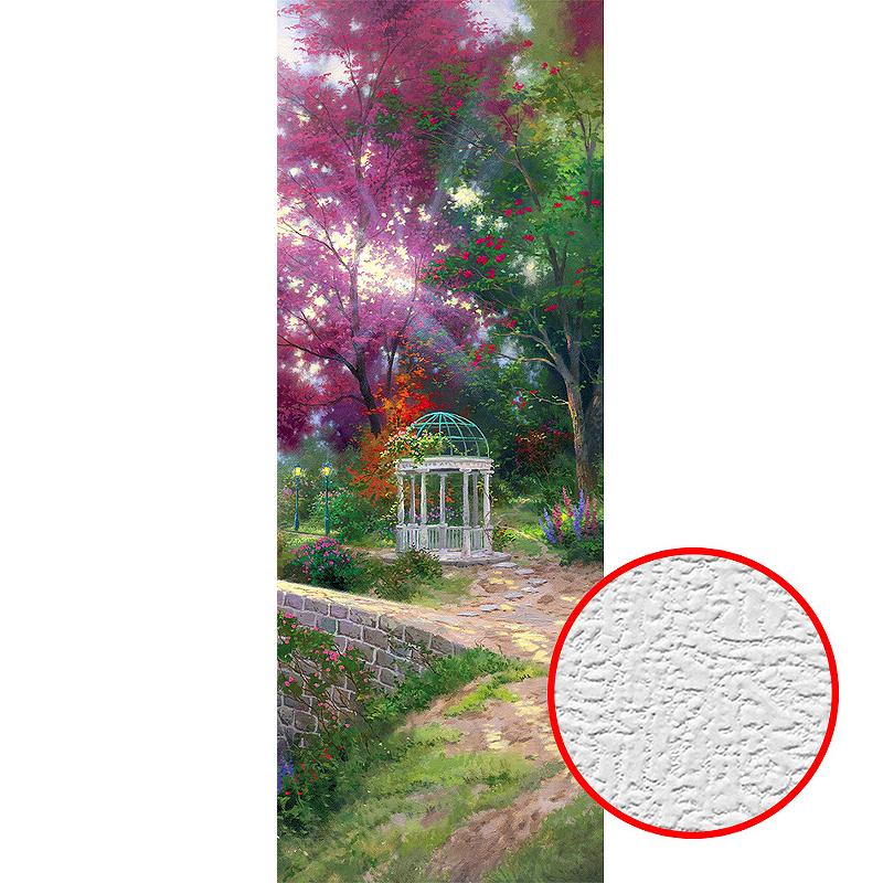 Фотообои Divino B-044 Фактура холст Винил на флизелине (1*2,7) Разноцветный, Пейзаж
