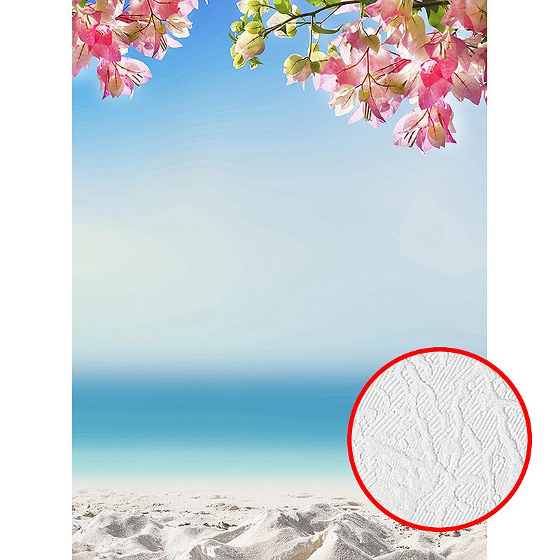 Фотообои Divino D-004 Фактура песок Винил на флизелине (2*2,7) Разноцветный, Море