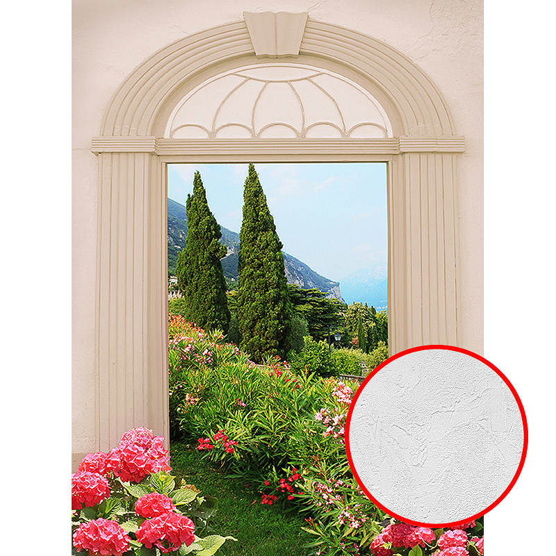 Фотообои Divino D-021 Фактура живопись Винил на флизелине (2*2,7) Разноцветный, Пейзаж