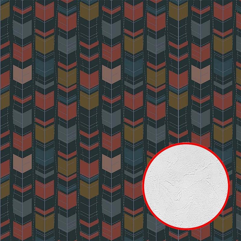 Фотообои Divino P-129 Фактура живопись Винил на флизелине (3*2,7) Разноцветный, Абстракция