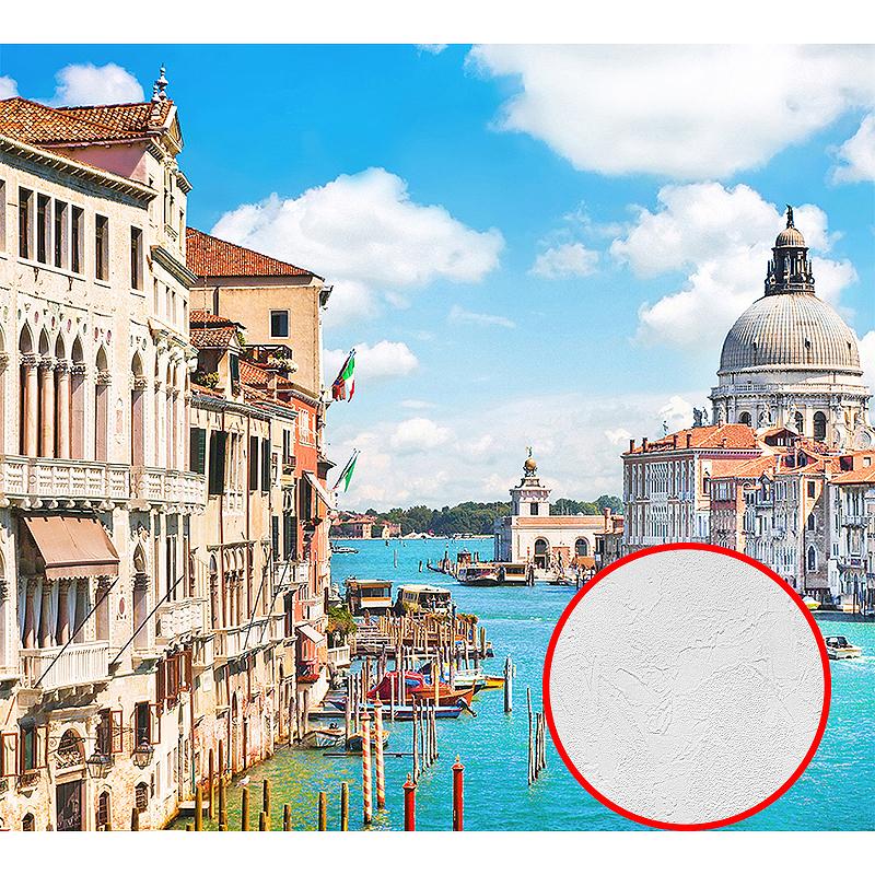 Фотообои Divino A-031 Фактура живопись Винил на флизелине (3*2,7) Разноцветный, Город