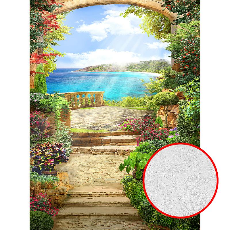 Фотообои Divino P-044 Фактура живопись Винил на флизелине (2*2,7) Разноцветный, Пейзаж