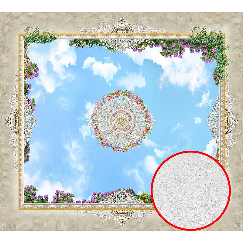 Фотообои Divino P-080 Фактура живопись Винил на флизелине (3*2,7) Разноцветный, Орнамент