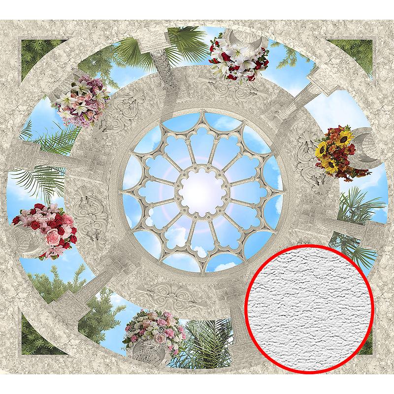 Фотообои Divino P-087 Фактура песок Винил на флизелине (3*2,7) Разноцветный, Небо