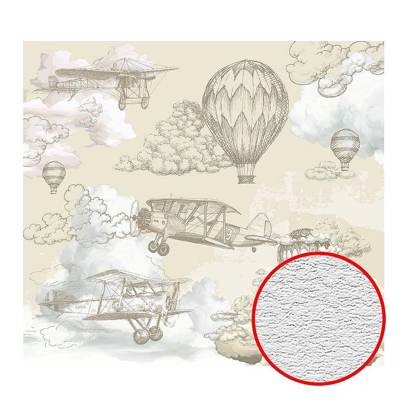 Фотообои Divino T-067 Фактура песок Винил на флизелине (3*2,7) Бежевый, Воздушные шары
