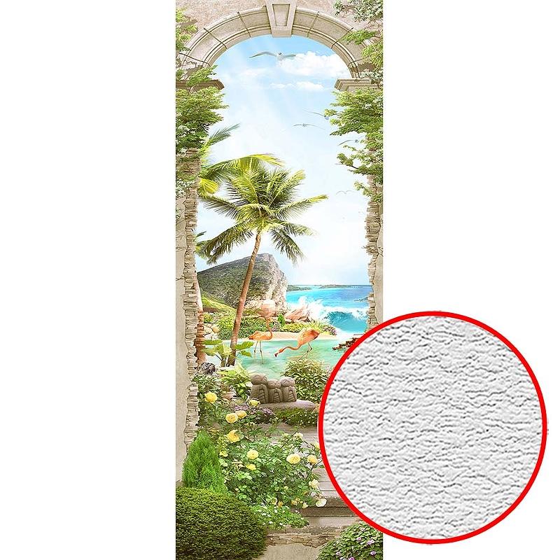 Фотообои Divino T-262 Фактура песок Винил на флизелине (1*2,7) Разноцветный, Пейзаж
