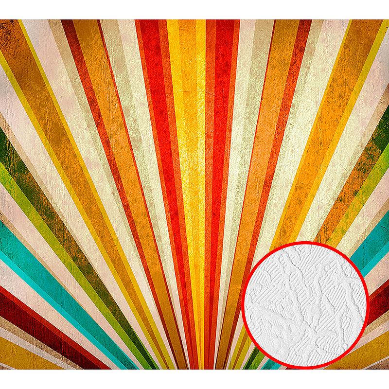 Фотообои Divino D-013 Фактура фреска Винил на флизелине (3*2,7) Разноцветный, Абстракция