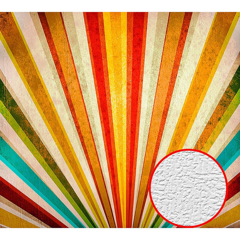Фотообои Divino D-013 Фактура холст Винил на флизелине (3*2,7) Разноцветный, Абстракция