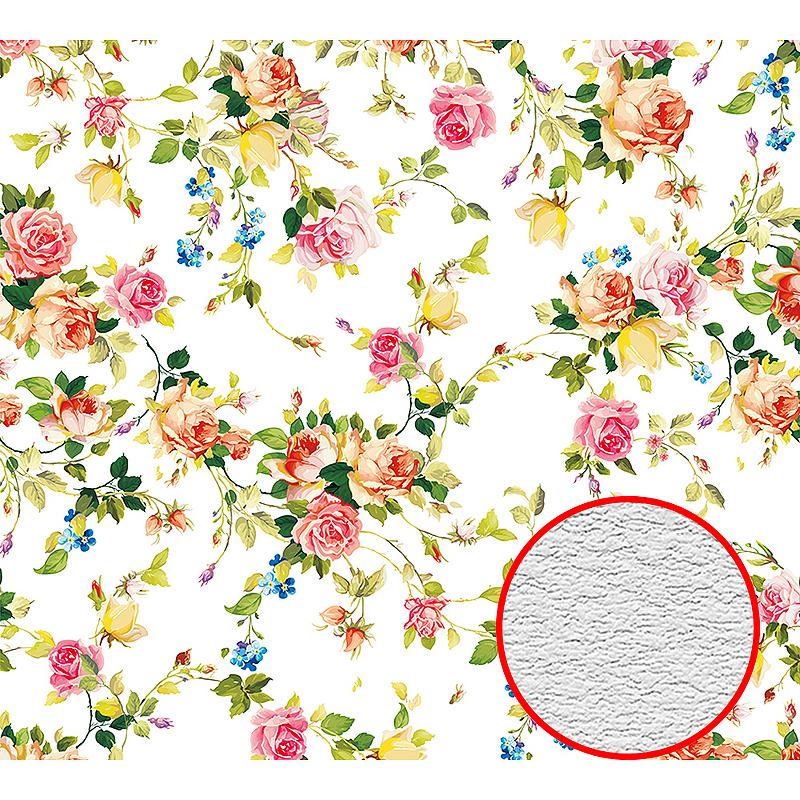 Фотообои Divino D-031 Фактура песок Винил на флизелине (3*2,7) Разноцветный, Цветы