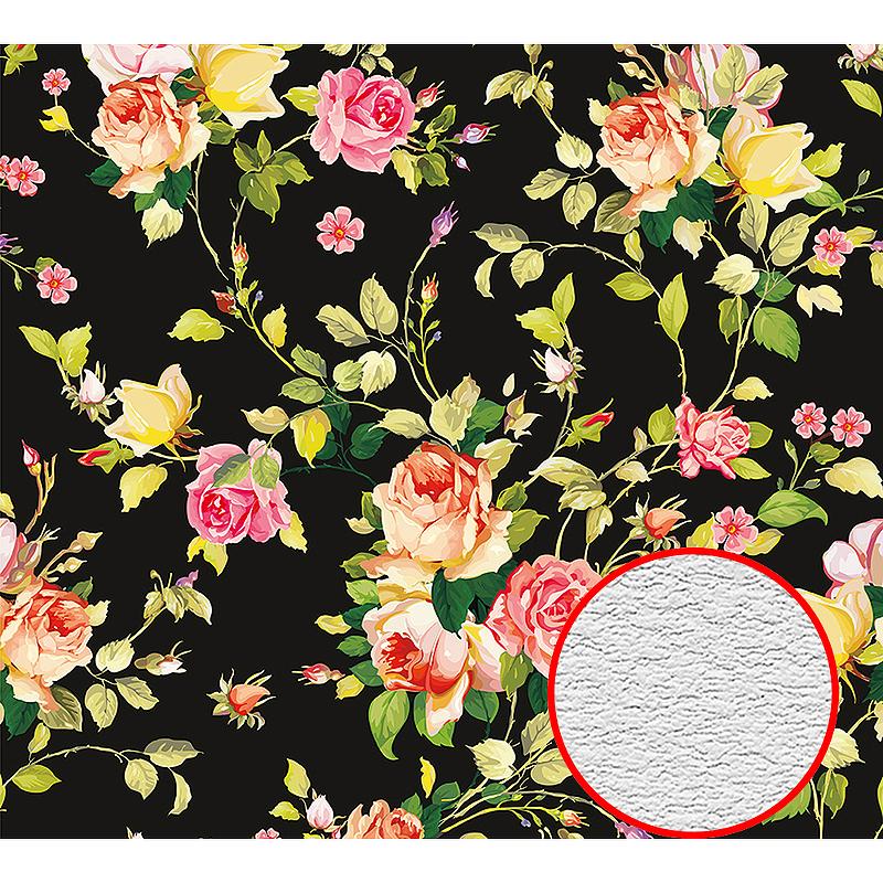 Фотообои Divino D-032 Фактура песок Винил на флизелине (3*2,7) Разноцветный, Цветы