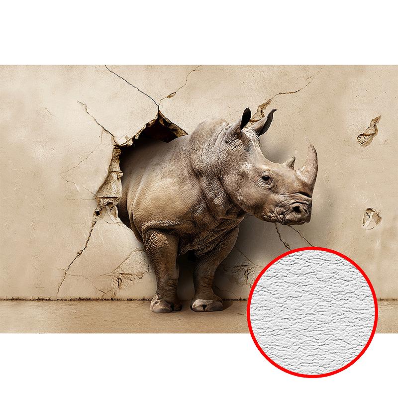 Фотообои Divino D-102 Фактура песок Винил на флизелине (4*2,7) Бежевый, Животные