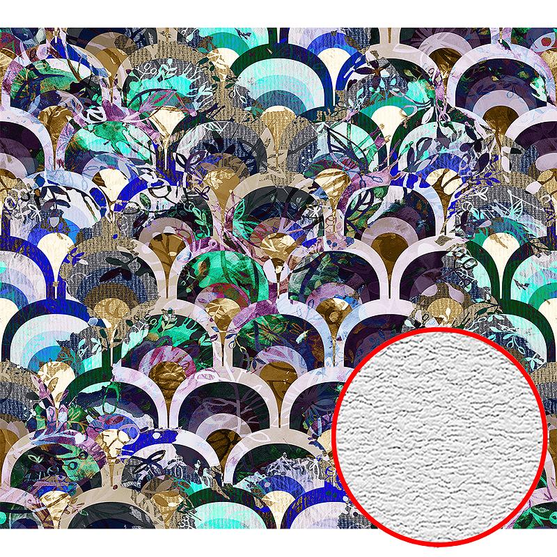 Фотообои Divino H-079 Фактура песок Винил на флизелине (3*2,7) Разноцветный, Абстракция