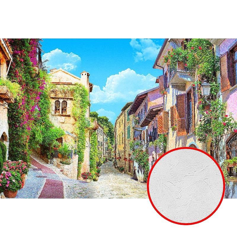 Фотообои Divino L-031 Фактура живопись Винил на флизелине (4*2,7) Разноцветный, Пейзаж