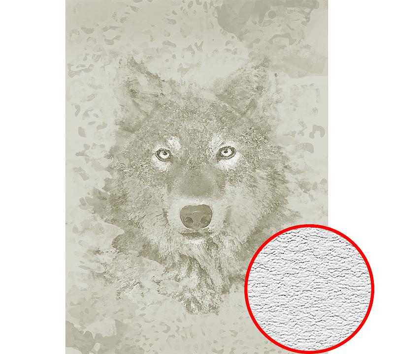Фотообои Divino H-035 Фактура песок Винил на флизелине (2*2,7) Серый/Бежевый, Животные