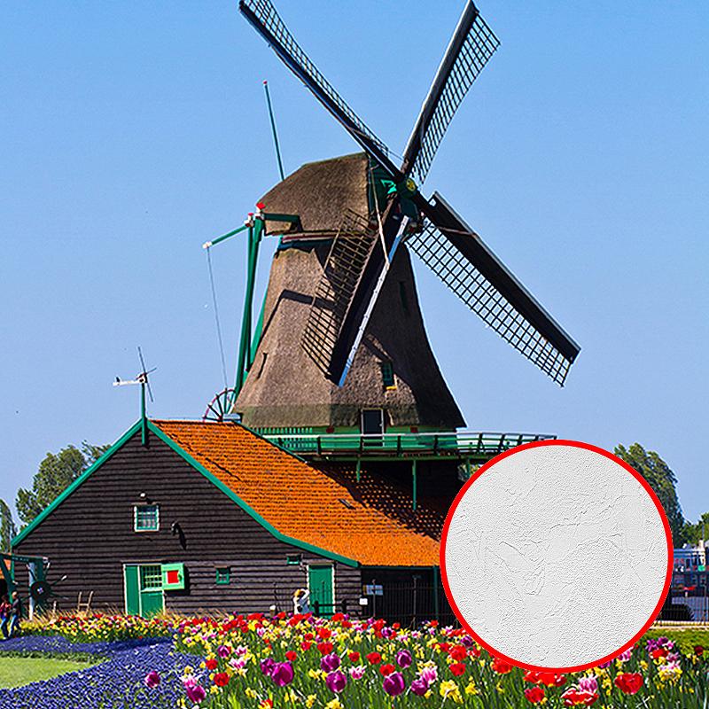 Фотообои Divino C-243 Фактура живопись Винил на флизелине (2*2,7) Разноцветный, Пейзаж