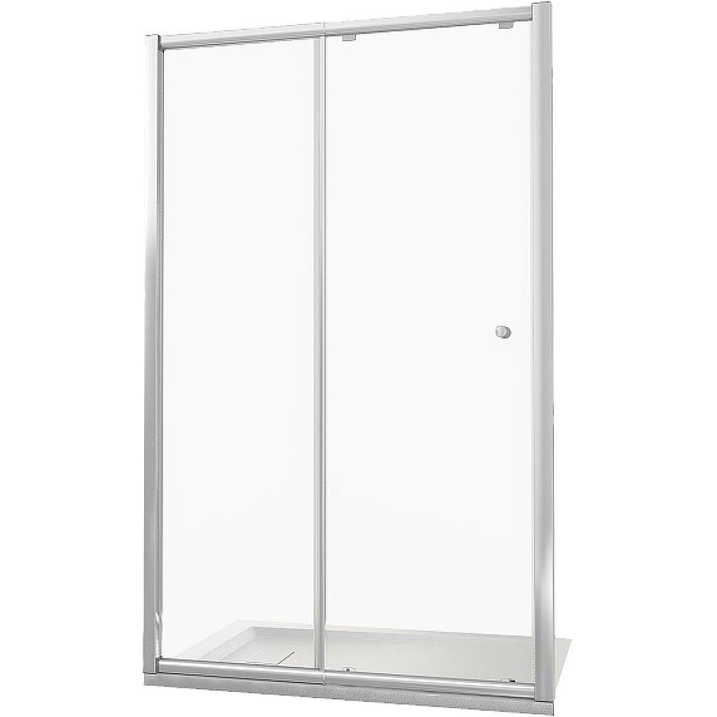 Душевая дверь Good Door Lira WTW -130-C-CH 130 профиль Хром стекло прозрачное