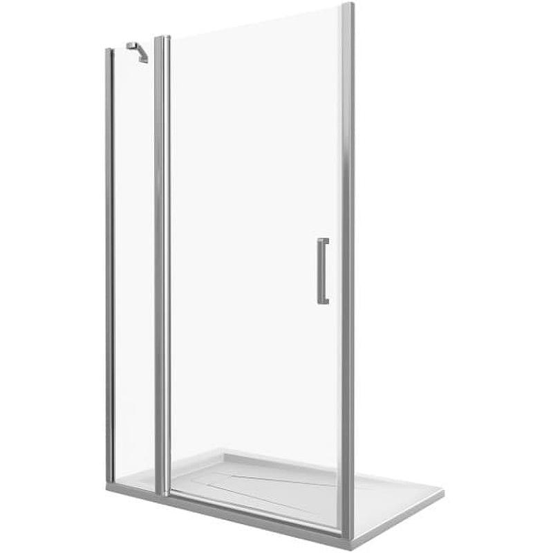 Душевая дверь Good Door Fantasy 130 WTW-130-C-CH профиль Хром стекло прозрачное