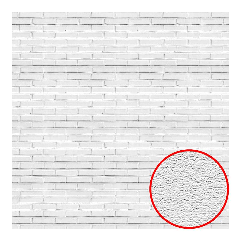 Фотообои Divino L-074 Фактура песок Винил на флизелине (2*2,7) Белый, Кирпич